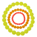 Bižuterie neonové perle