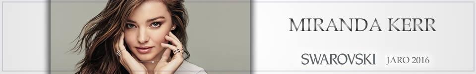 Miranda Kerr opět tváří firmy Swarovski